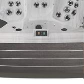 Coloris de panneaux en tourage spa - Mocha Modern - Aquilus Spas