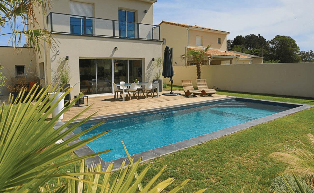 Une piscine creusée nommée plaisir...