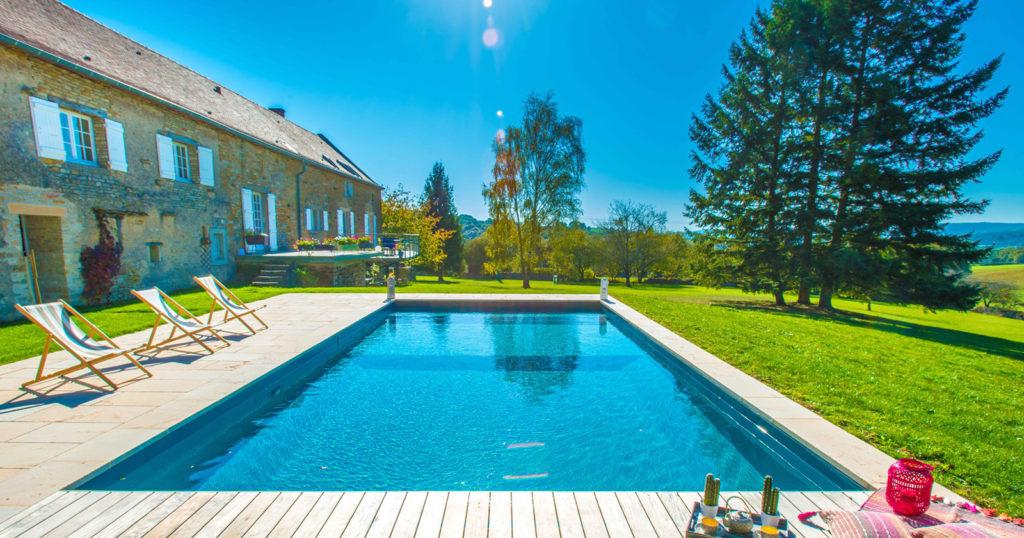 Bora, une piscine exceptionnelle en Saône et Loire 2