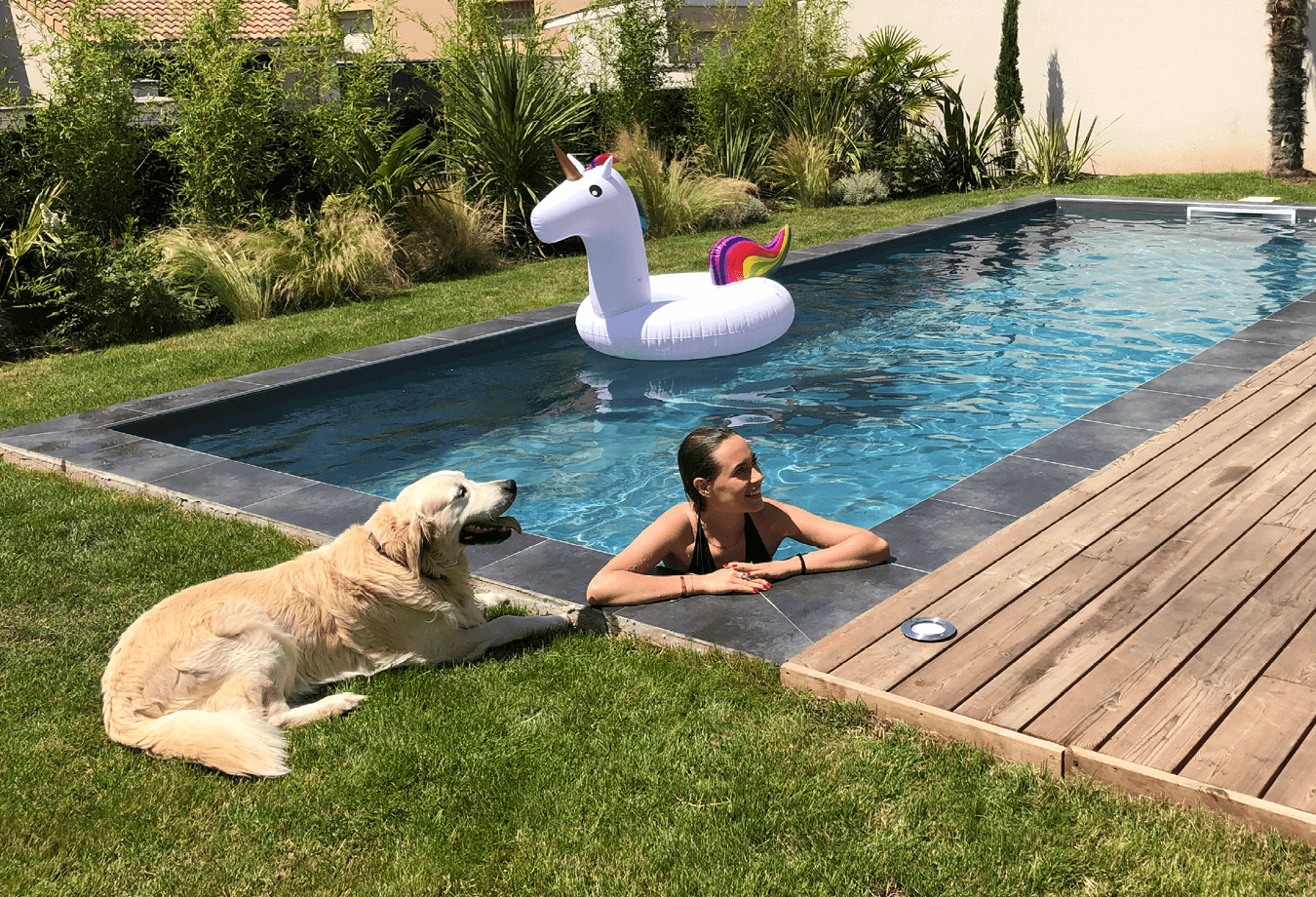 """Le kit piscine """"prêt-à-monter"""" 3"""