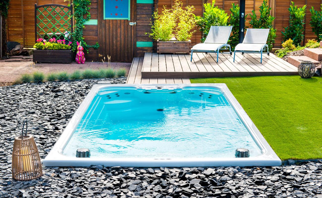 La M'Water : notre piscine suréquipée, notre espace détente - Aquilus Piscines et Spas Strasbourg