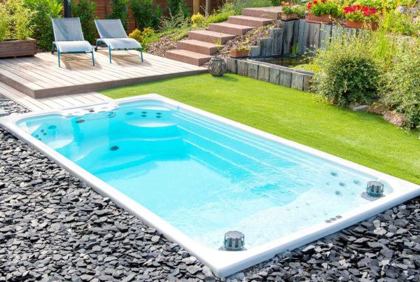 La M'Water : notre piscine suréquipée, notre espace détente- Aquilus Piscines et Spas Strasbourg