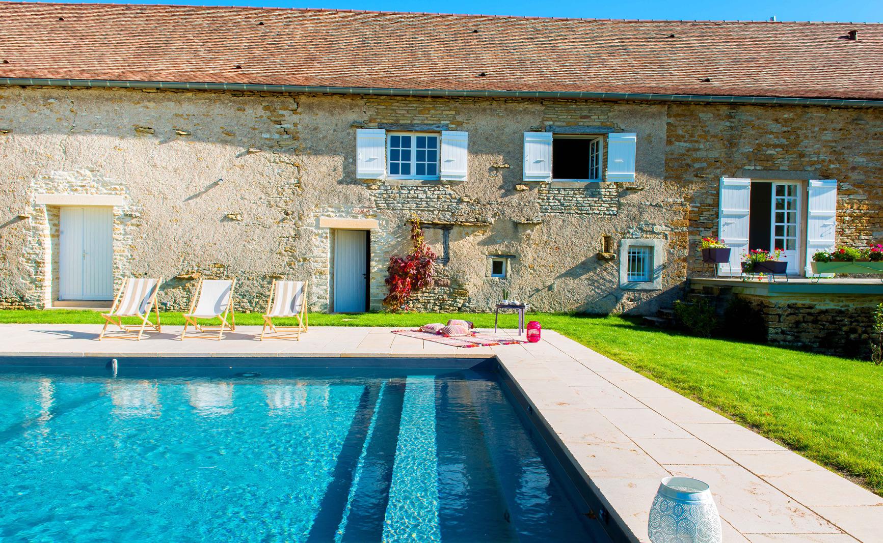 Bora, une piscine exceptionnelle en Saône et Loire 4