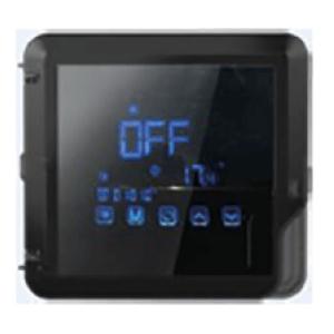 Pompe à chaleur - panneau de contrôle tactile