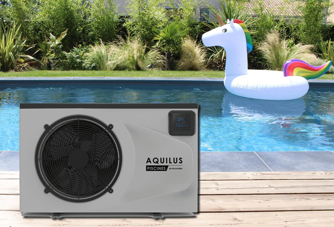Pompe à chaleur - équipement piscine Aquilus