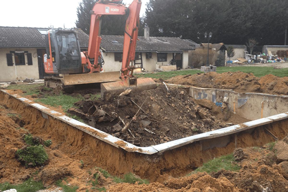 Rénovation de piscine 1