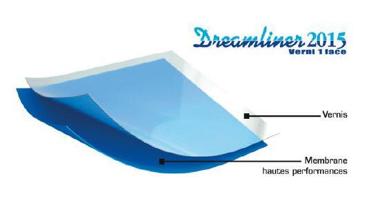 revêtement de piscine : liner