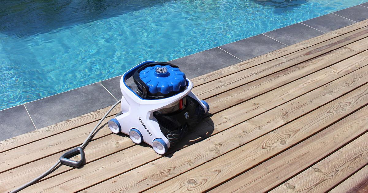 AquaVac - Robot électrique nettoyeur