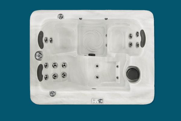 Spa Aquilus modèle 151 - spa compact 3 places