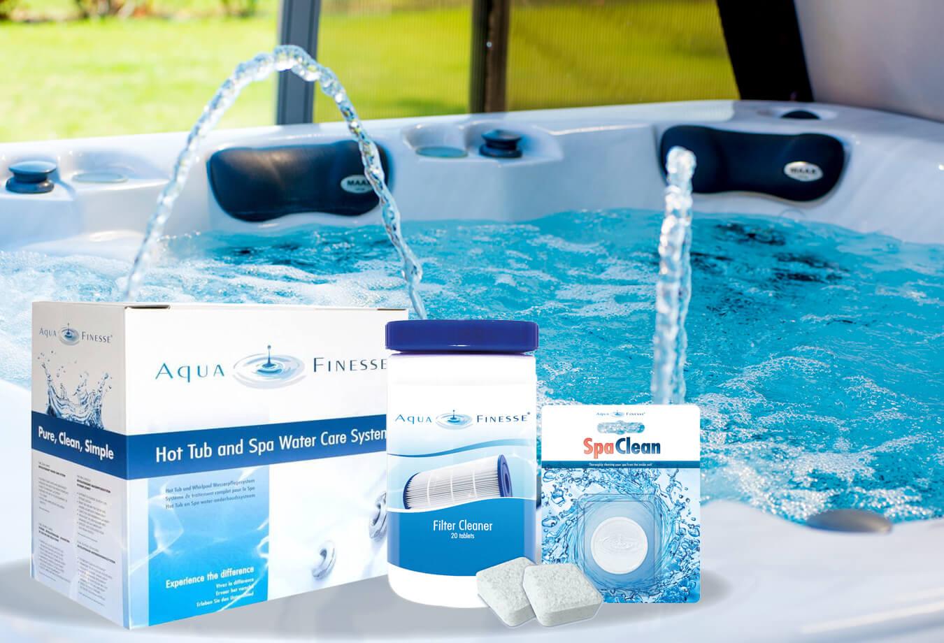 Aquafinesse - Traitement de l'eau du spa
