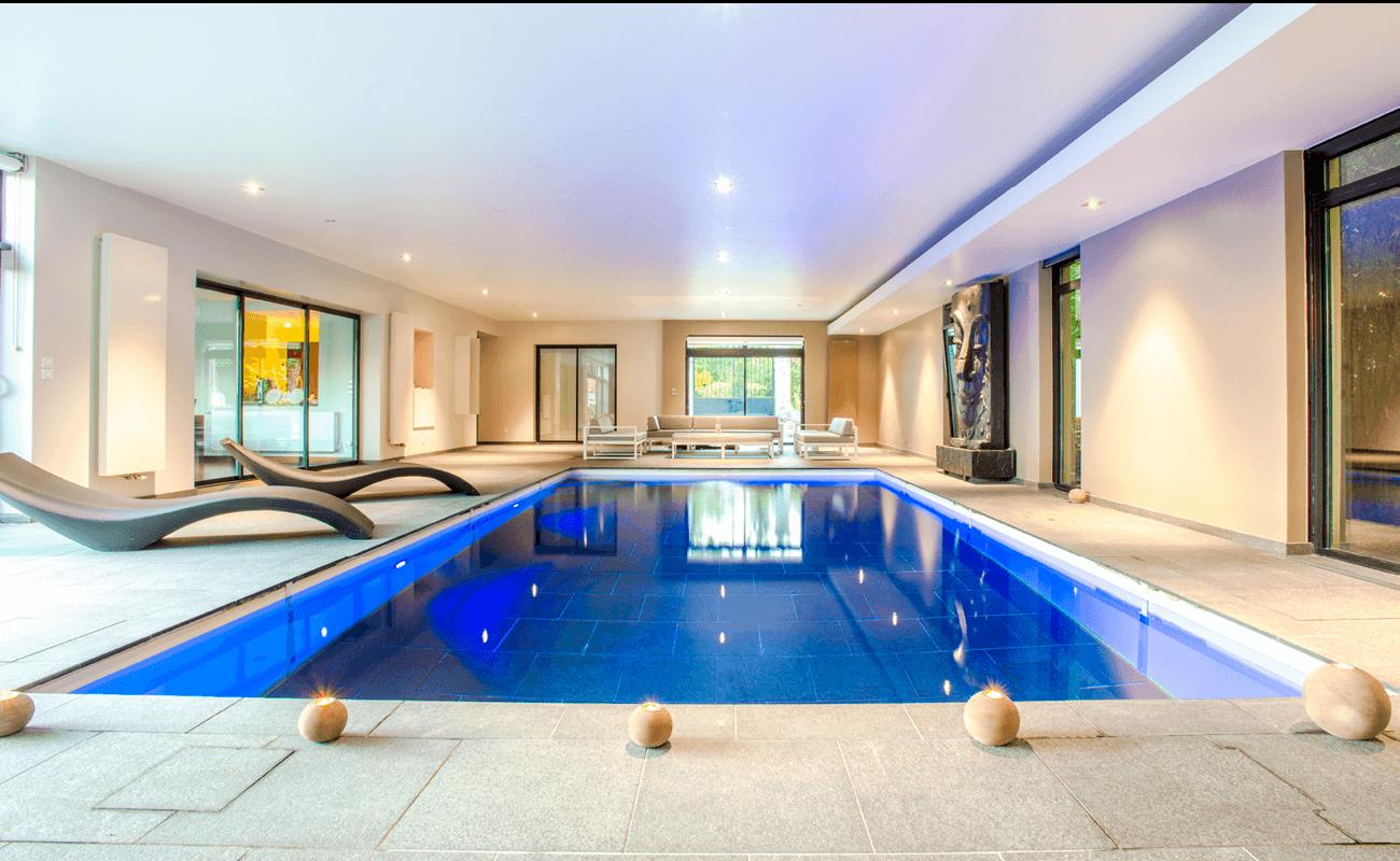 piscine intérieure et spa Aquilus Valenciennes