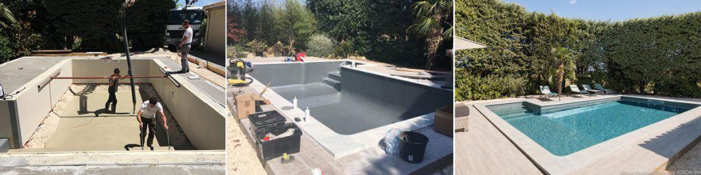 Une ancienne piscine coque fait peau neuve ! 7