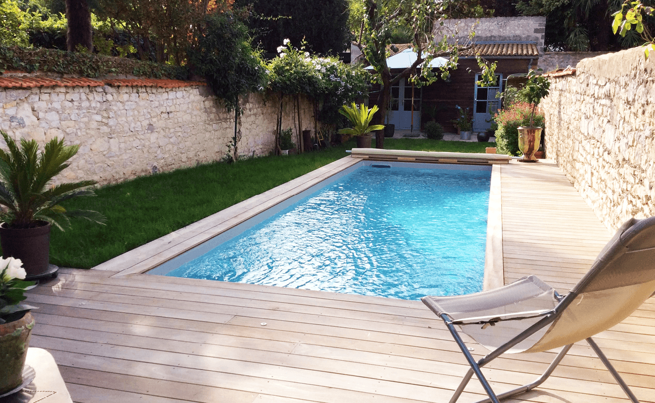 chantier piscine aquilus inédit