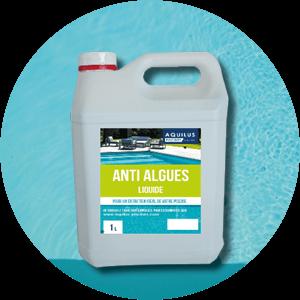 anti-algue traitement de l'eau