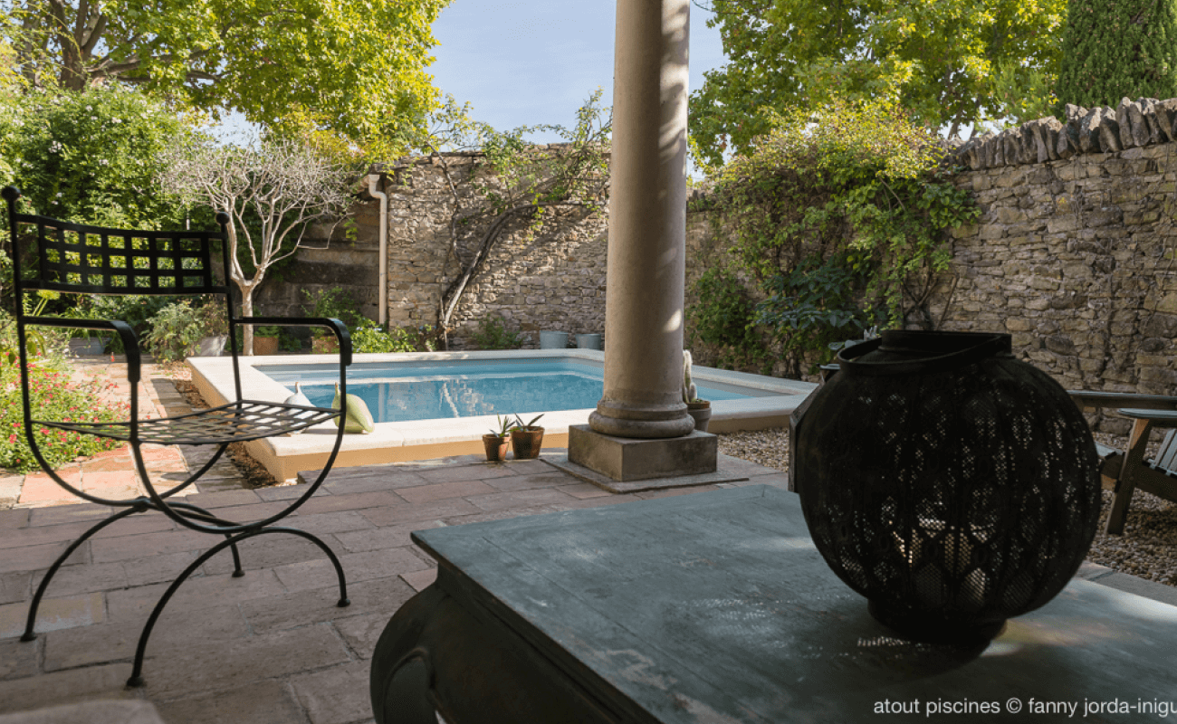 piscine intimiste en Provence